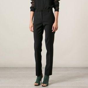 BURBERRY LONDON WOOL Women Slim Fit Pants (US16)